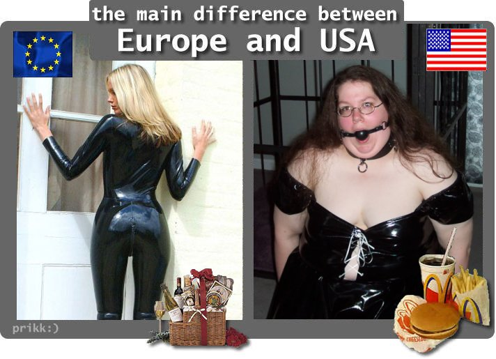 The common things between europeans and americans
